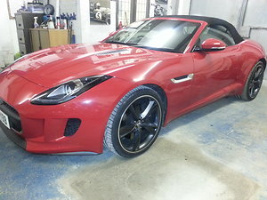 Gallery. red f type
